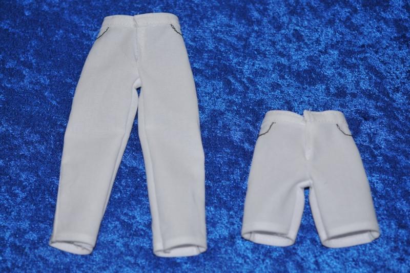 DUKKEMØNSTER: Bukser og shorts med linned - herre