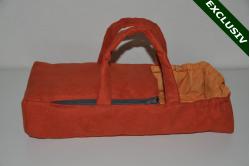 Mørk orange ruskind lift