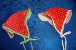 MØNSTER: Tørklæde med skygge