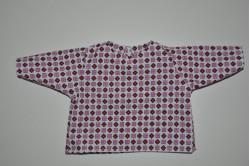 Bluse med firkanter