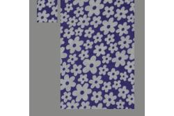 Lilla med blomster (sengesæt op til 70 cm.)
