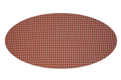 Orange tern (madras til kurv)