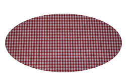 Røde tern (madras til kurv)