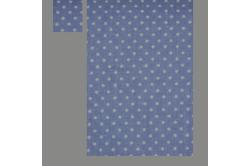 Lilla med hvide prikker (sengesæt op til 70 cm.)