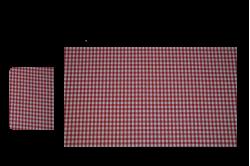 Røde tern (sengesæt til lift/kurv)