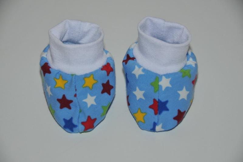 Blå futter med multifarvede stjerner