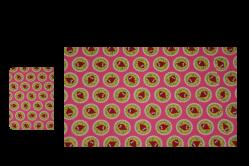 Pink med ugler (sengesæt til lift/kurv)