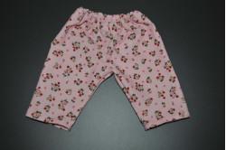 Lyserød fløjl bukser