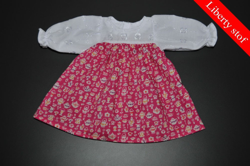 Tea party kjole (Liberty stof)
