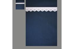 Marine med lyserød blonde (sengesæt op til 70 cm.)