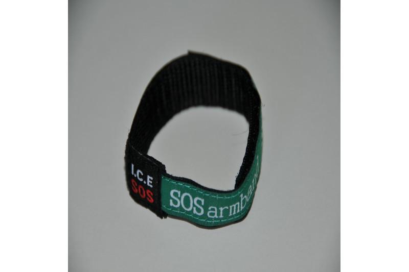 Velcro ID armbånd til børn