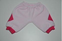 Lyserøde bukser med lommeeffekt