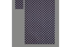 Lilla med prikker (sengesæt op til 70 cm.)