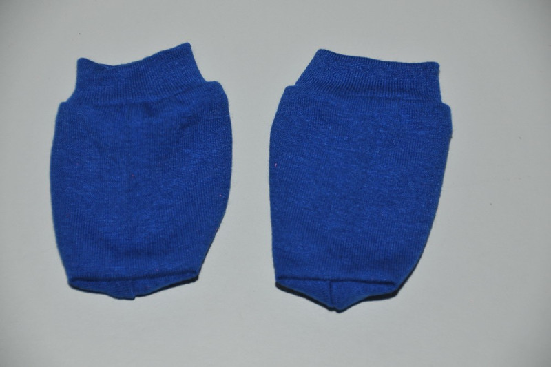 Blå strømper