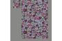 Hvid med lilla blomster (sengesæt op til 70 cm.)