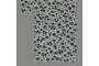 Lyserød med lilla blomster (sengesæt op til 70 cm.)