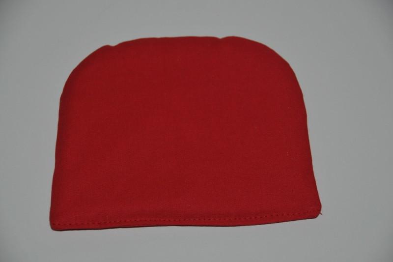 Rød hovedpude