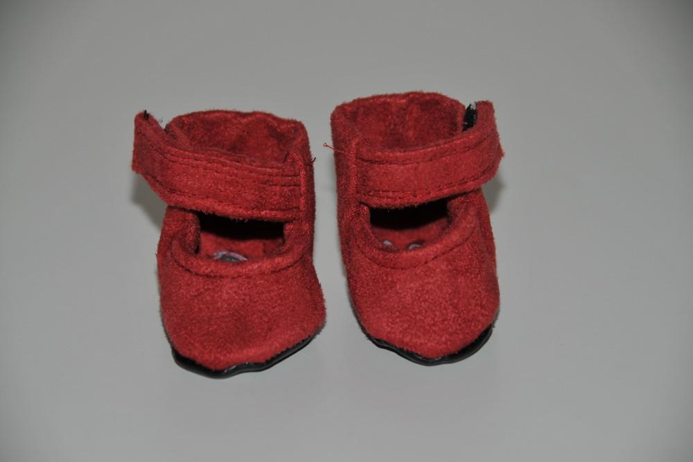 fa9a8b15c7c Rød ruskind sko - Miras Dukketøj | Køb dukketøj og tilbehør til ...