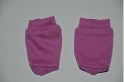 Mørk rosa strømper