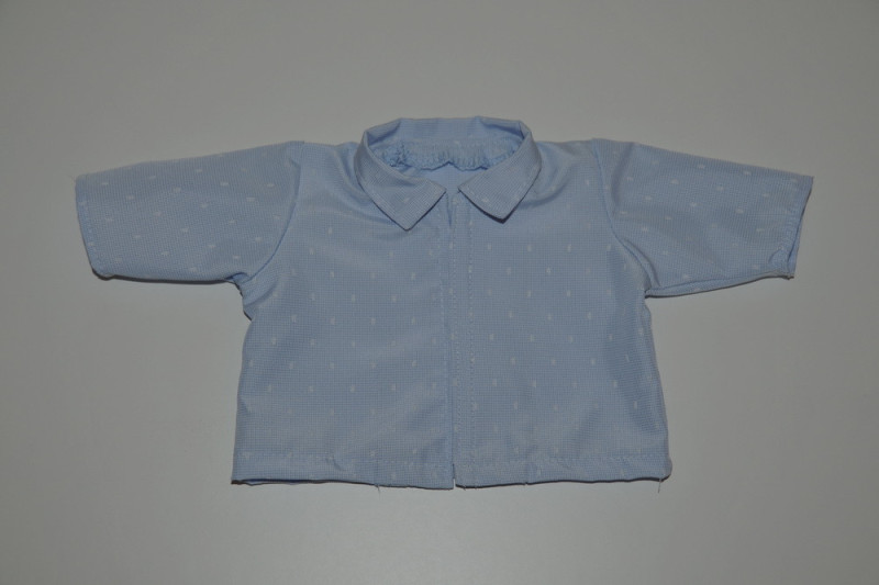 Lyseblå skjorte - 2. SORTERING