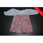 Blomsterhave kjole (Liberty stof)