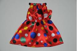 Rød party kjole