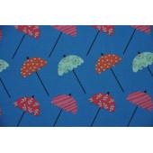 Dukketøj - Regnsæt med paraplyer
