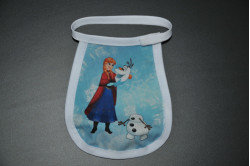 Disney hagesmæk med Anna og Olaf