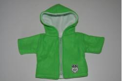 Grøn jakke med ugle
