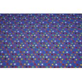 Lilla dukketrusse med multifarvede stjerner