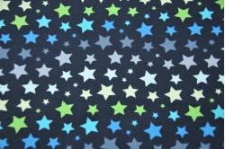 Mørkegrå dukke elefanthue med stjerner