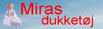 Miras Dukketøj | Køb dukketøj og tilbehør til billig pris.